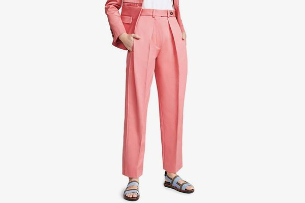 Cedric Charlier Women's Wide Leg Trousers
