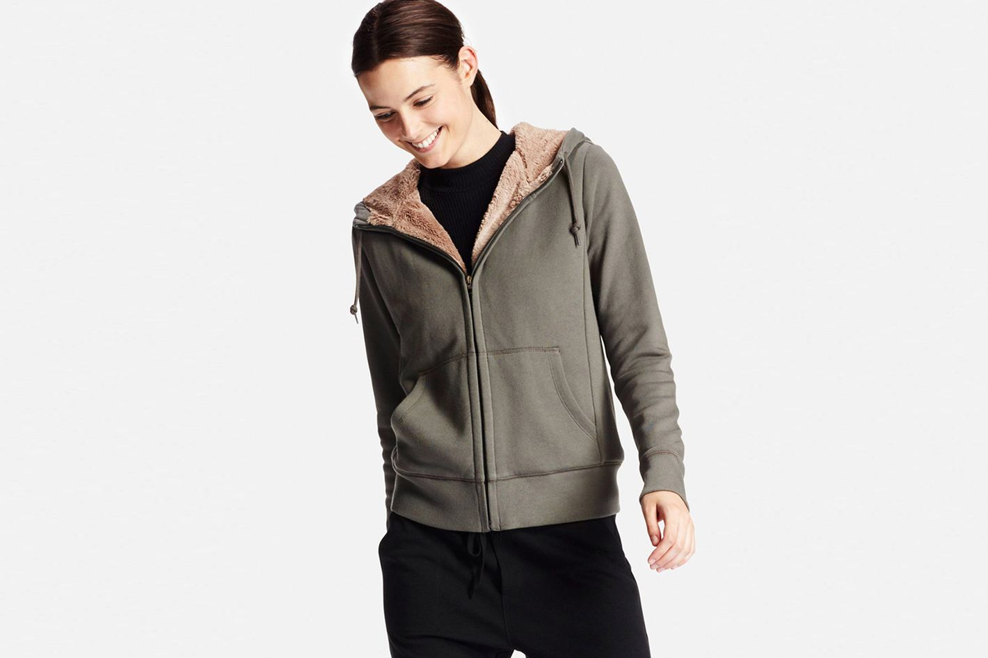 Uniqlo Fleece-Lined Hoodies