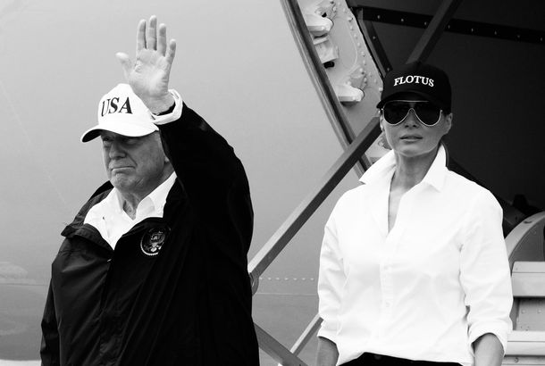 Melania Trump Finally Succumbs to the Branded HatJust in case you were  wondering who she is. 75327041f