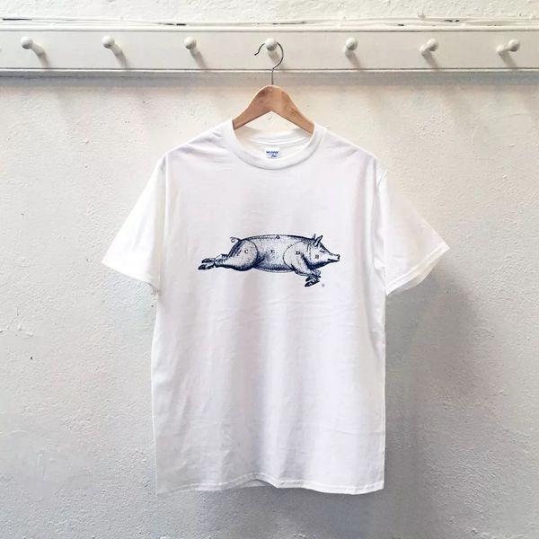 St. JOHN Pig T-shirt