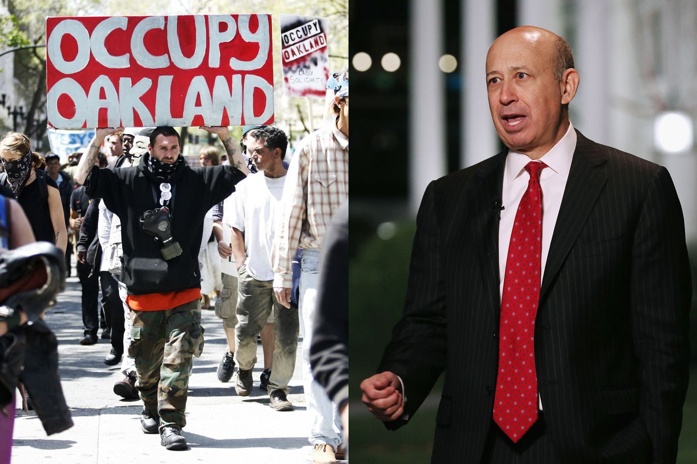 Occupy Oakland vs. Lloyd Blankfein