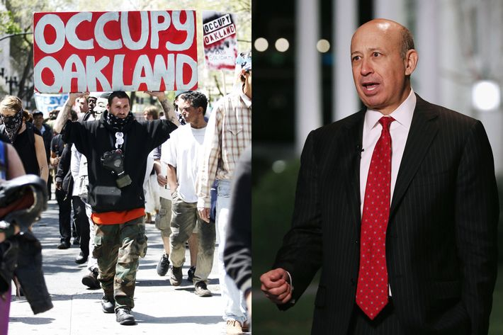 Occupy Oakland vs. Lloyd Blankfein