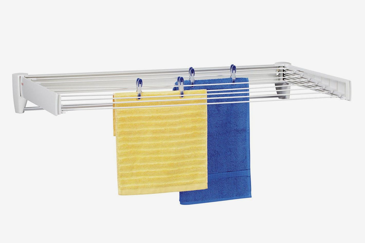 Leifheit 83100 Telefix 100 Wall Mount Retractable Clothes Drying Rack