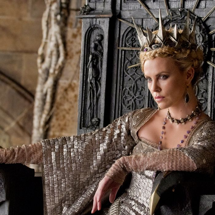Oscar winner CHARLIZE THERON is the Queen in the epic action-adventure
