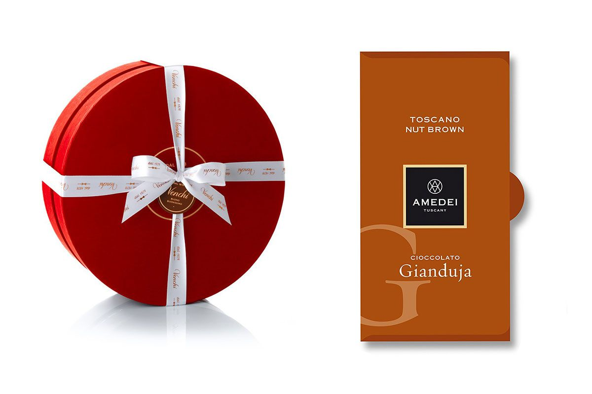 Romantic Red Round Box