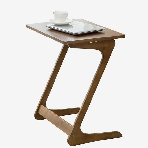 NNEWVANTE Sofa Table TV Tray and Laptop Desk