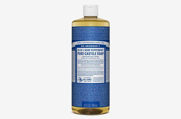 Dr. Bronner's Pure-Castile Liquid Soap Peppermint