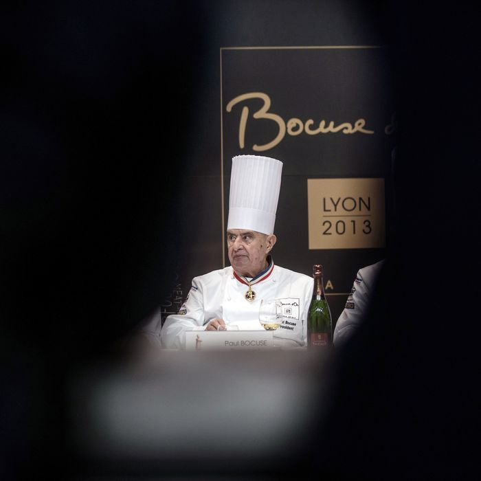 Make it from scratch, Bocuse says.