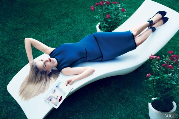 Did vogue invent marissa mayer in order to profile her