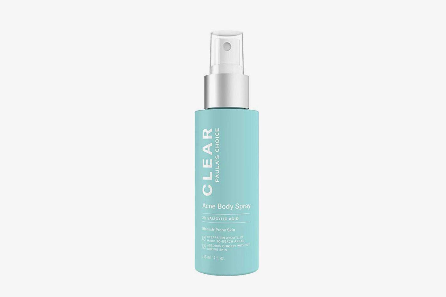 Paula's Choice-CLEAR Back and Body Acne Spray-w/2% Salicylic Acid-Leave-On Exfoliant