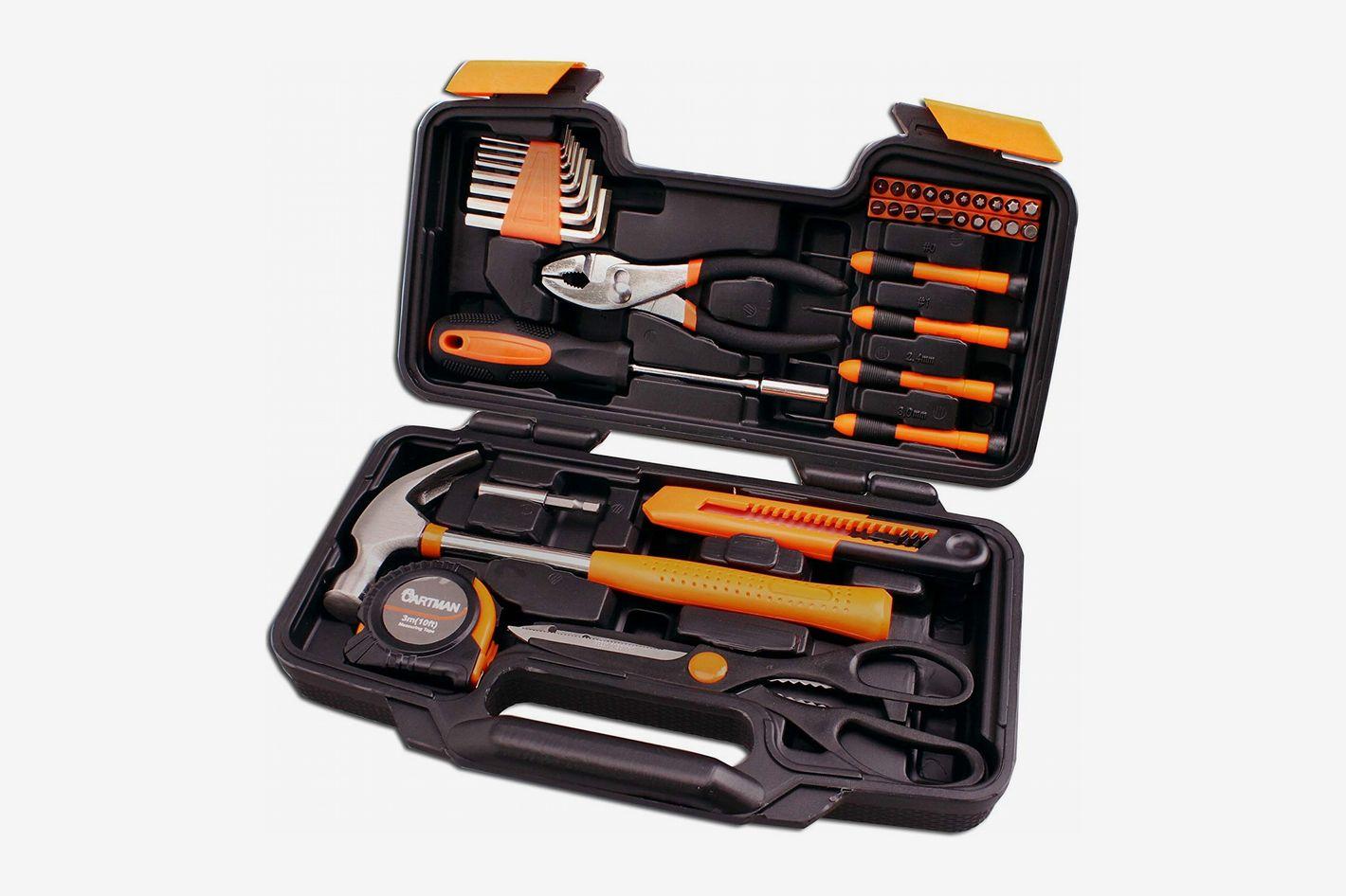 CARTMAN Orange Tool Set, 39-Piece