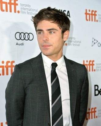 TORONTO, ON - SEPTEMBER 06: Actor Zac Efron arrives at the