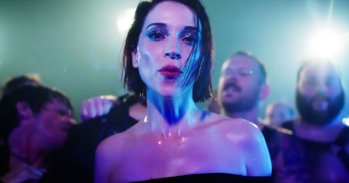 St Vincent Dances The Night Away In Fast Slow Disco Video