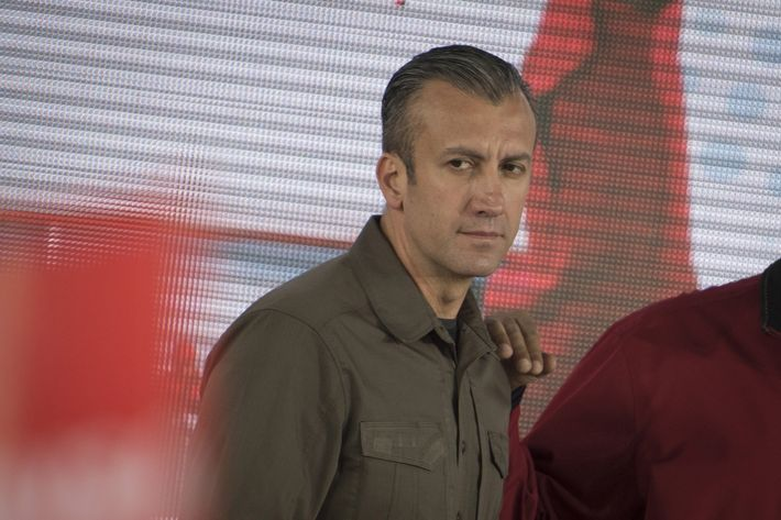 Image U.S. Hits Venezuela's VP With Sanctions for Drug Trafficking U.S. Hits Venezuela's VP With Sanctions for Drug Trafficking 14 tareck el aissami