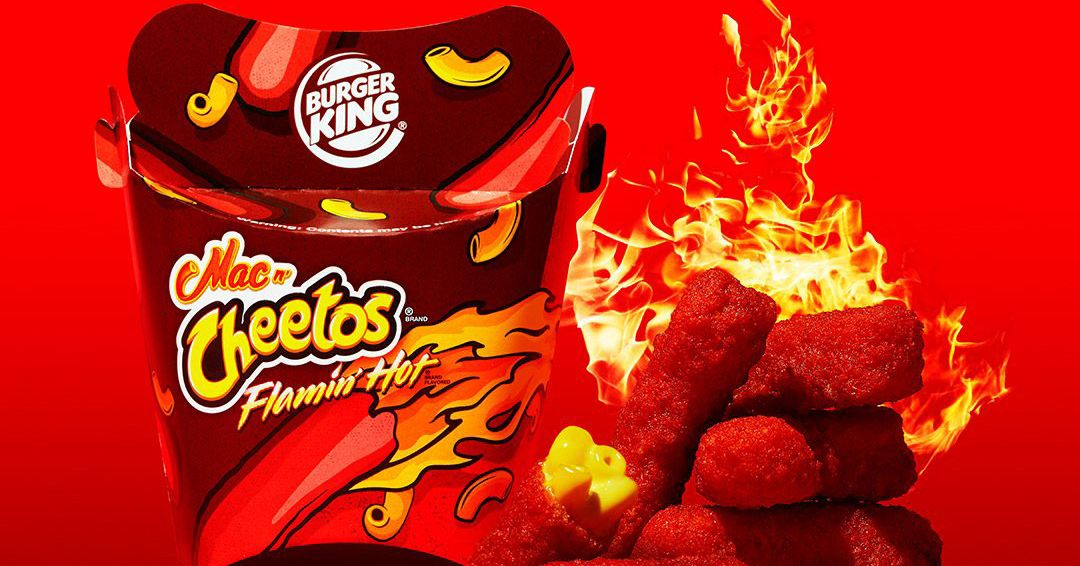 youtube�s fastfood critics love flamin� hot mac n� cheetos