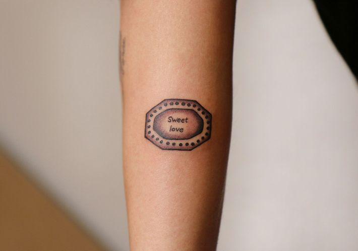 Amanda Wachob S Love Poem Tattoos At The Whitney Museum Shop