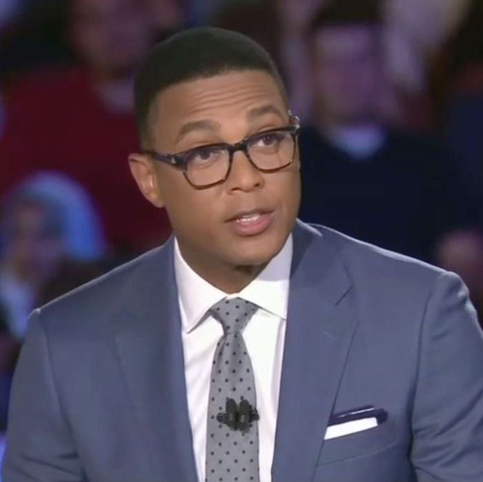 CNN anchor Don Lemon.