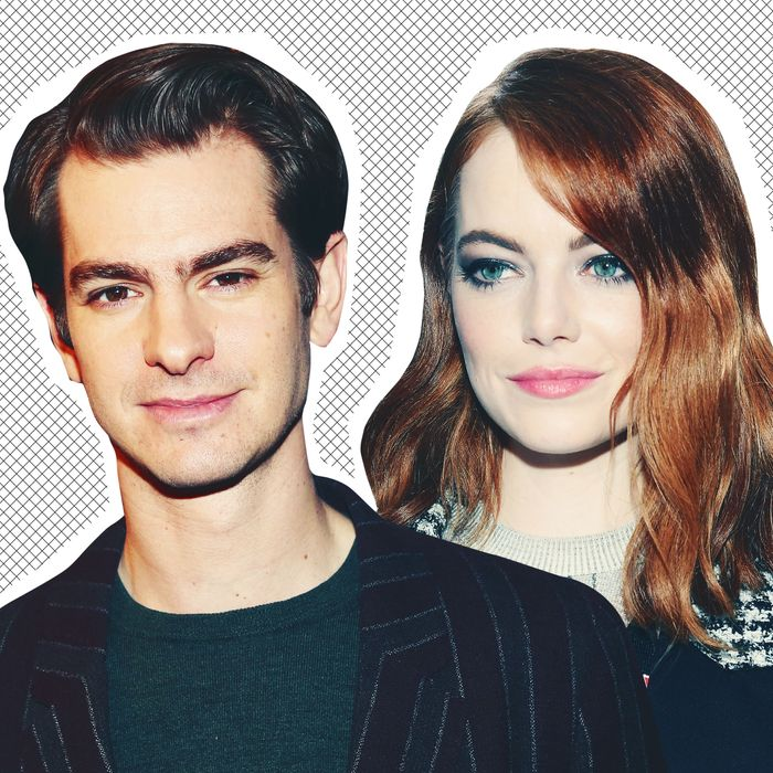 be5a0ac3c68 Emma Stone and Andrew Garfield Might Be Back on, Plus More