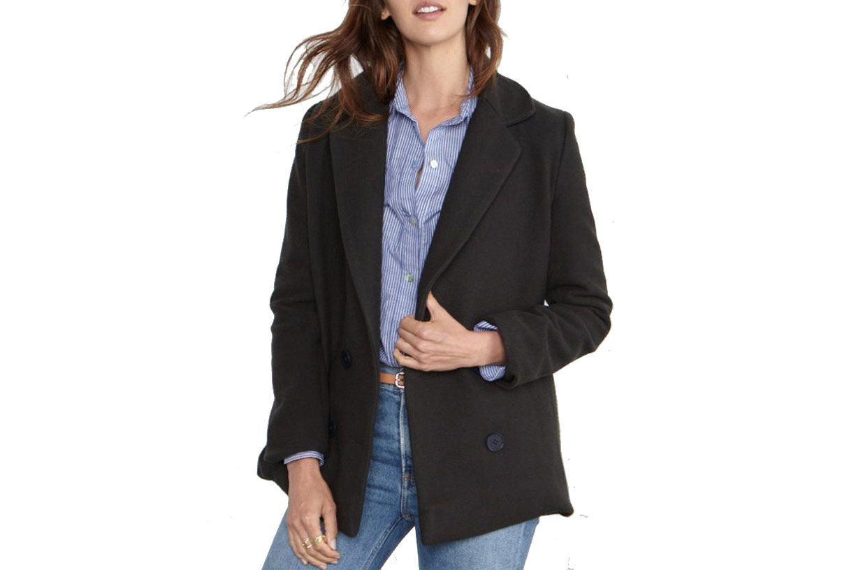 Thea Wool Blazer Coat