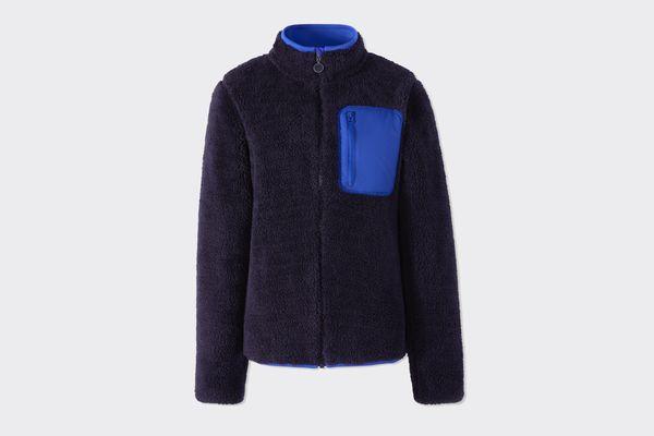 Tory Sport Sherpa Fleece Jacket