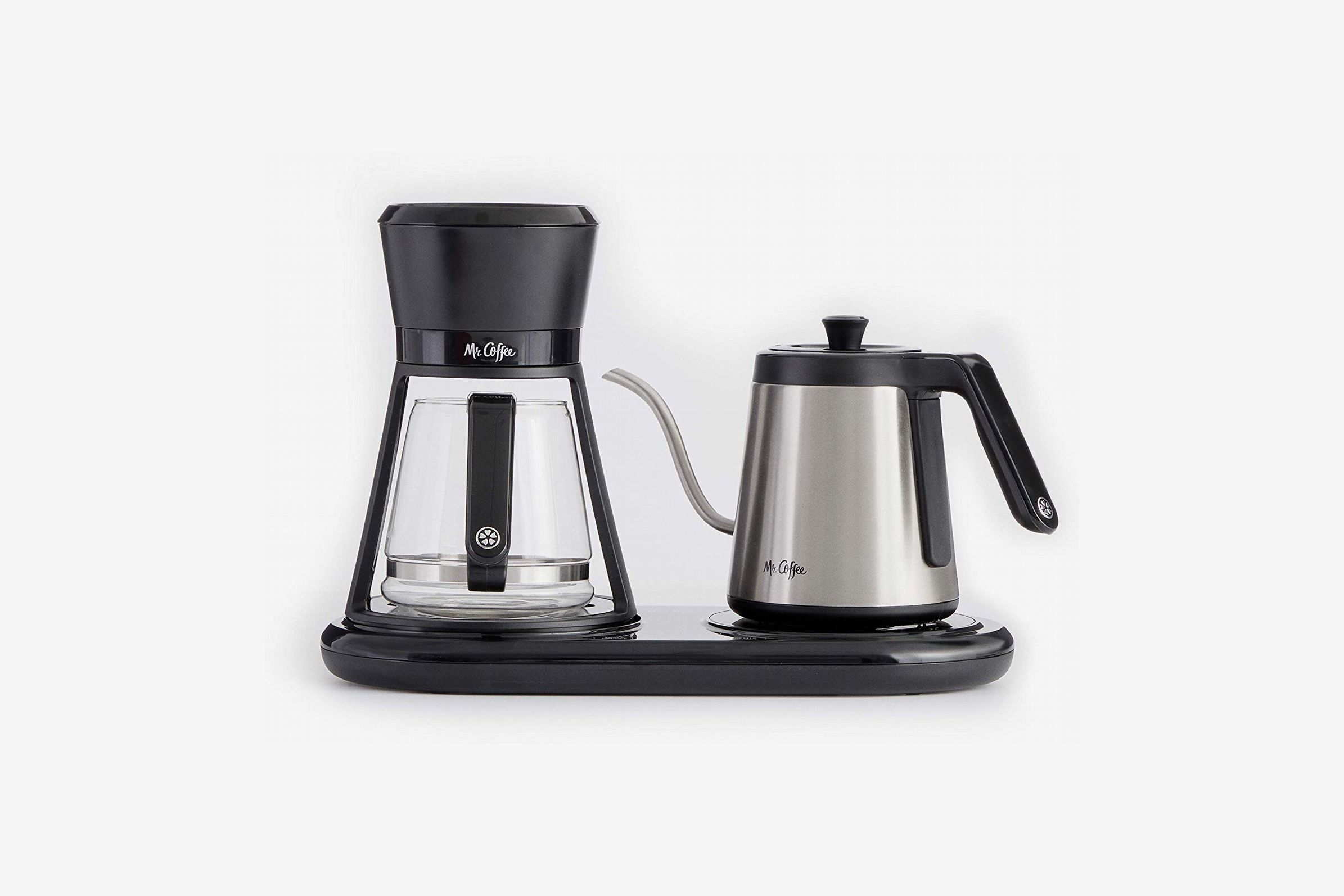 Mr. Coffee BVMC-PO19B All-in- One At-Home Pour Over Coffee Maker, Black