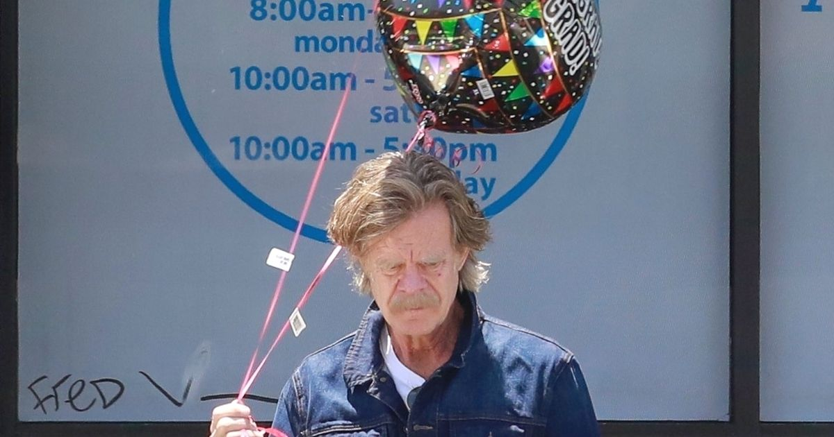 William H. Macy Bought the Grad Balloons Himself