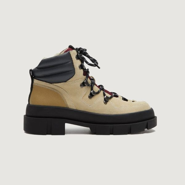 Mango Leather Mountain Boots