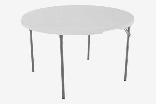 Lifetime Light Commercial Fold-in-Half Round Table
