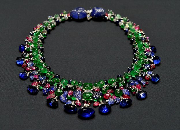 Photo 37 from The Tutti Frutti Necklace by Cartier