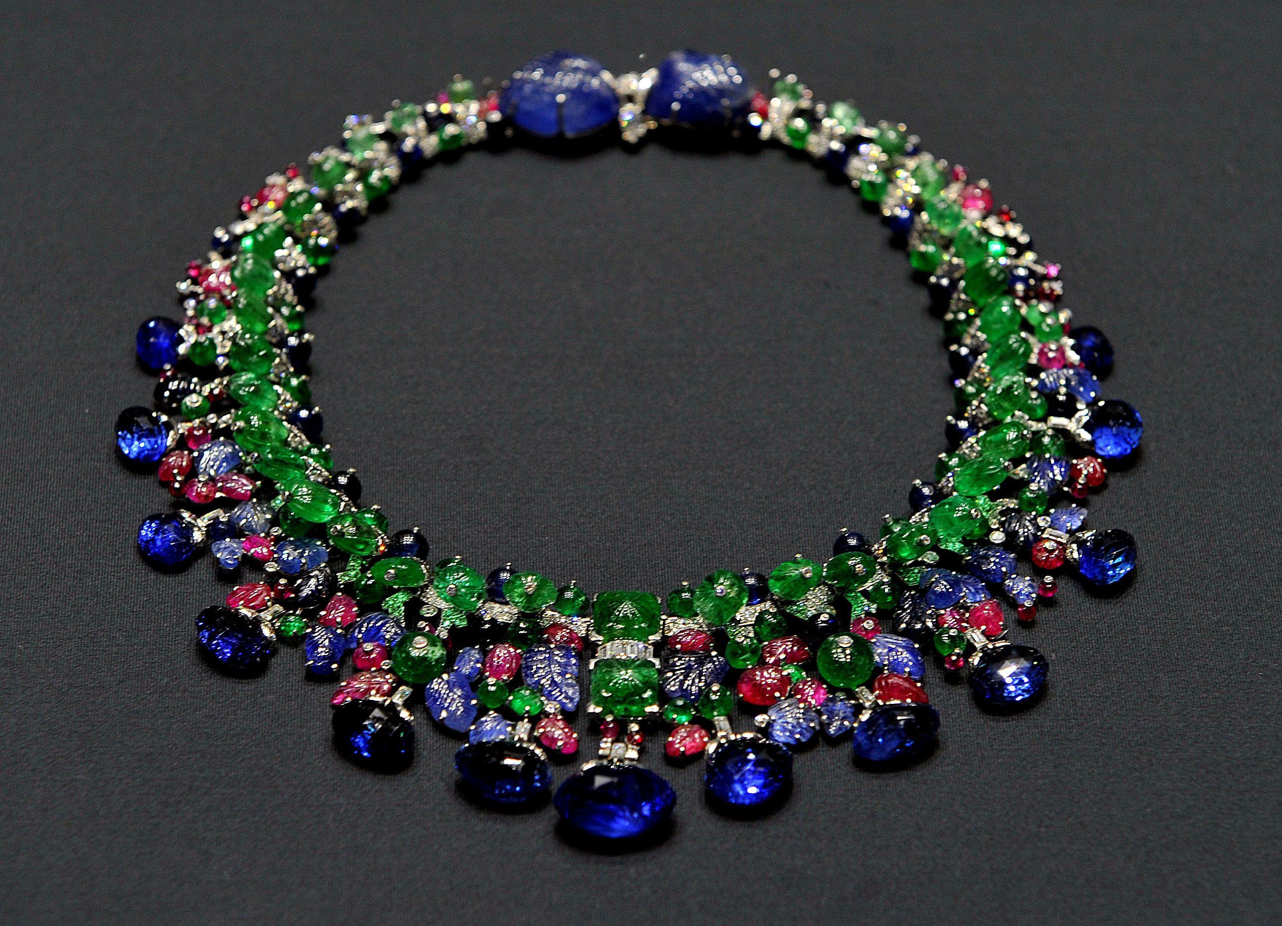 The Tutti Frutti Necklace by Cartier