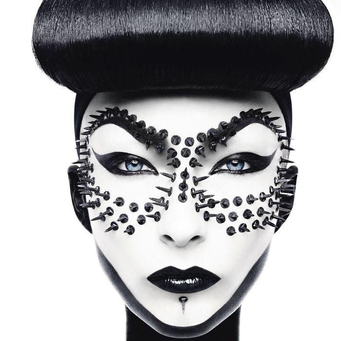 Studded Mask, 2010.