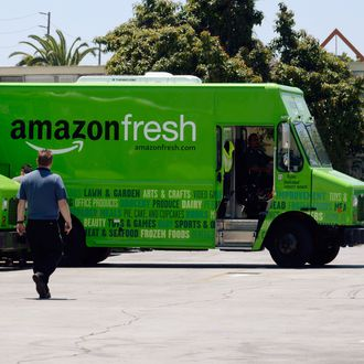 Amazon Is Scaling Back Its Fresh Food Delivery