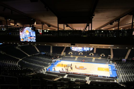 Madison Square Garden: Photos: The Renovated Madison Square Garden -- NYMag