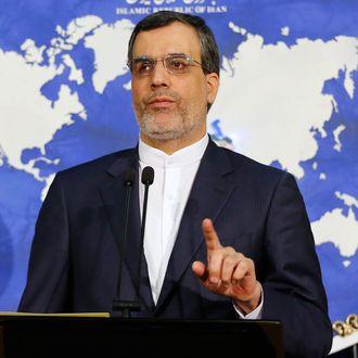 New Iranian Foreign ministry spokesman Hossein Jaber Ansari