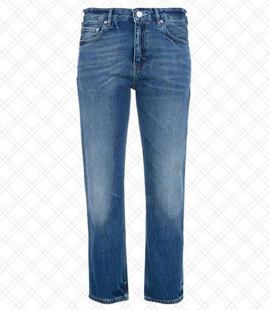 "The awkward cropped length actually makes these mom jeans look amazing when on.  <i>$270 at <a href=""http://shop.acnestudios.com/shop/women/jeans-1/pop-vintage.html"">Acne</a></i>"