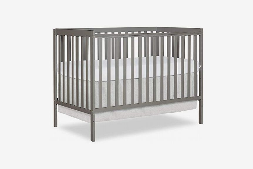 Dream On Me Synergy5-in-1 Convertible Crib, Cool Grey