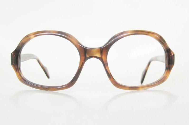 Etsy 1960s Oversized Boxy Glasses
