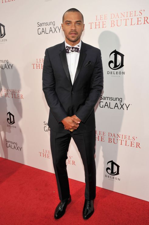 "Actor Jesse Williams attends Lee Daniels' ""The Butler"" New York premiere, hosted by TWC, DeLeon Tequila and Samsung Galaxy on August 5, 2013 in New York City."