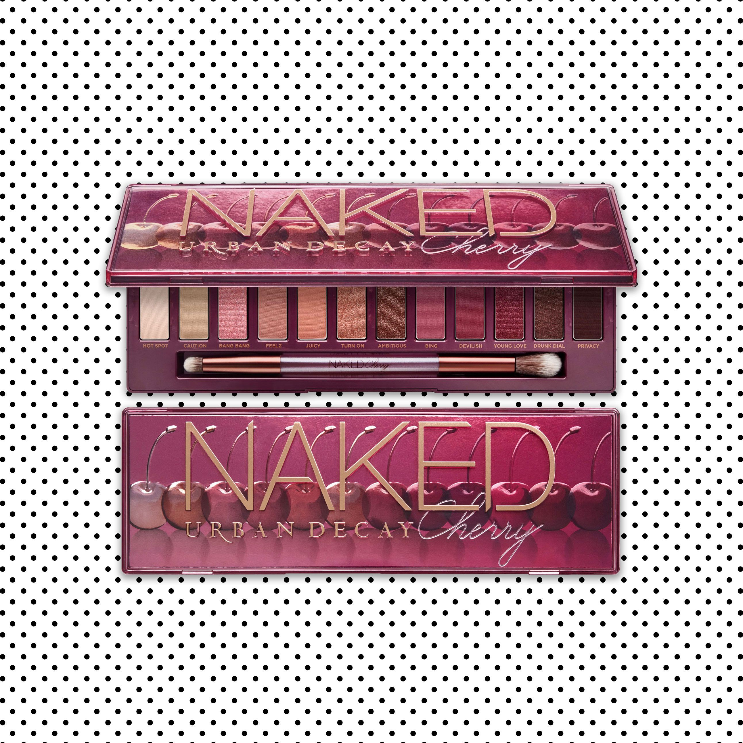 Urban Decay Releases New Naked Cherry Palette