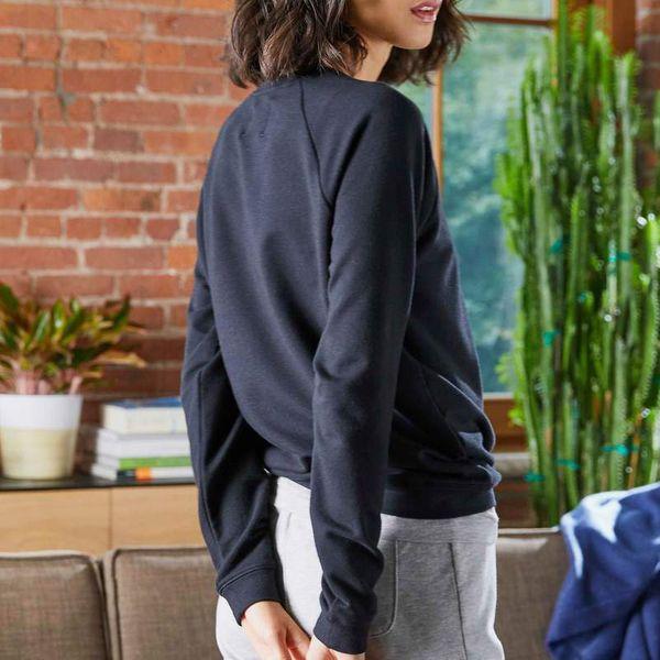 navy brooklinen sterling sweatshirt