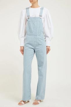 mih jeans denim dungarees - strategist fashion summer sale