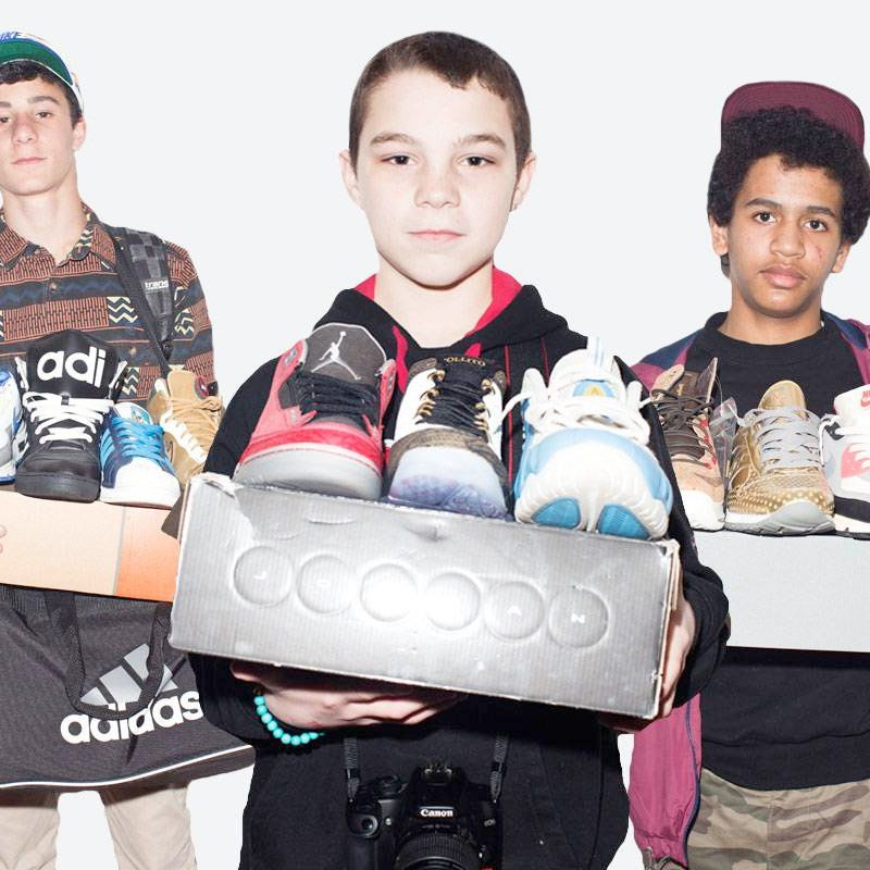 online retailer 32b5f 176a4 Meet the New Teen Sneakerheads Flipping Shoes for Cash, Fast