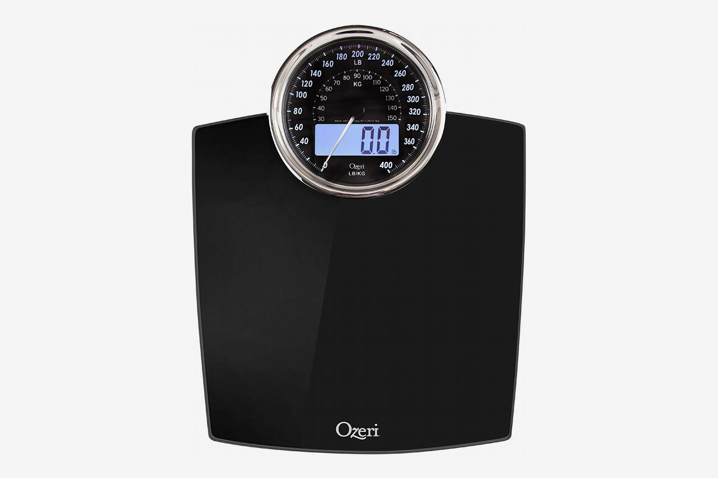 Ozeri Rev Bathroom Scale with Electro-Mechanical Weight Dial
