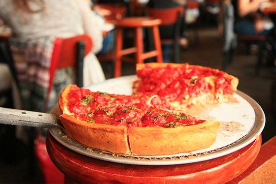 "<b><a href=""http://www.zacharys.com/index.html"">Zachary's Chicago Pizza</a></b>    <i>5801 College Avenue, Oakland; 1853 Solano Avenue, Berkeley; 3110 Crow Canyon Place, San Ramon; 140 Crescent Drive, Pleasant Hill</i>         While we might enjoy the cornmeal in Little Star's crusts a little better than the more standard, wheat-flour-based stuffed pizzas at Zachary's, there are plenty of people who would disagree with us. Zachary's has been an East Bay favorite since opening in Rockridge in 1983, and now has four locations. Original owners Zach Zachowski and Barbara Gabel, both Wisconsin natives, ultimately sold the business under an employee stock ownership plan, and as of 2010 the company is entirely worker-owned. We will say the chunky tomatoes that top these hearty pies are always delicious and well seasoned, and our perennial favorites are feta- and olive-stuffed Mediterranean, and the signature spinach and mushroom."