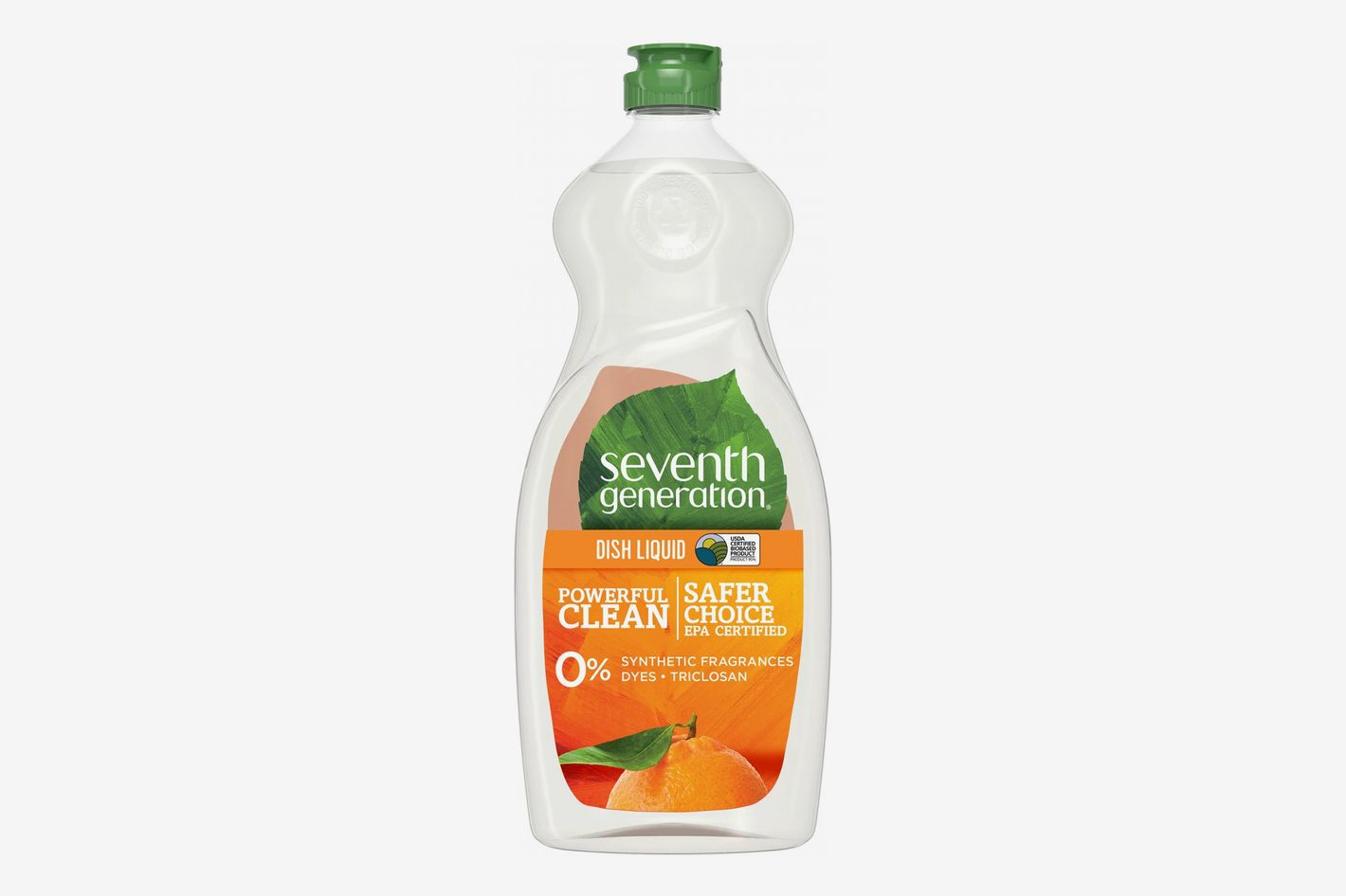 Seventh Generation Liquid Dish Soap, Clementine Zest & Lemongrass Scent