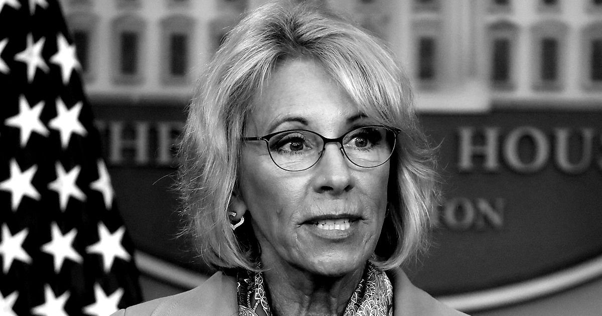 Betsy Devos To Make A Major Announcement On Title Ix