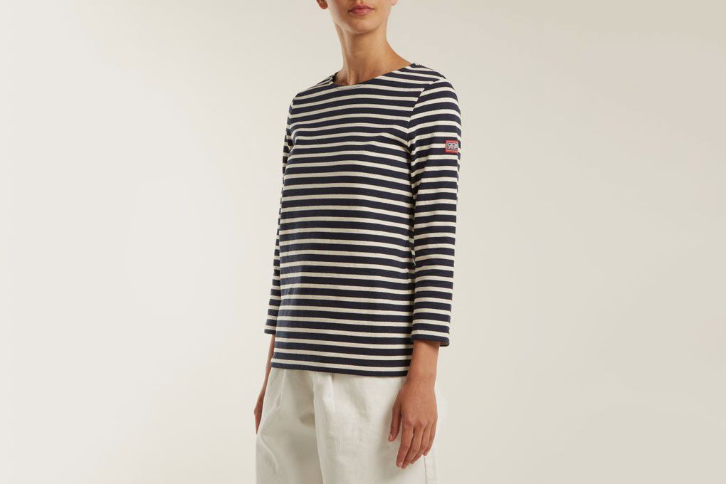 95994b99b946 10 Best Breton-Striped Shirts for Women 2018