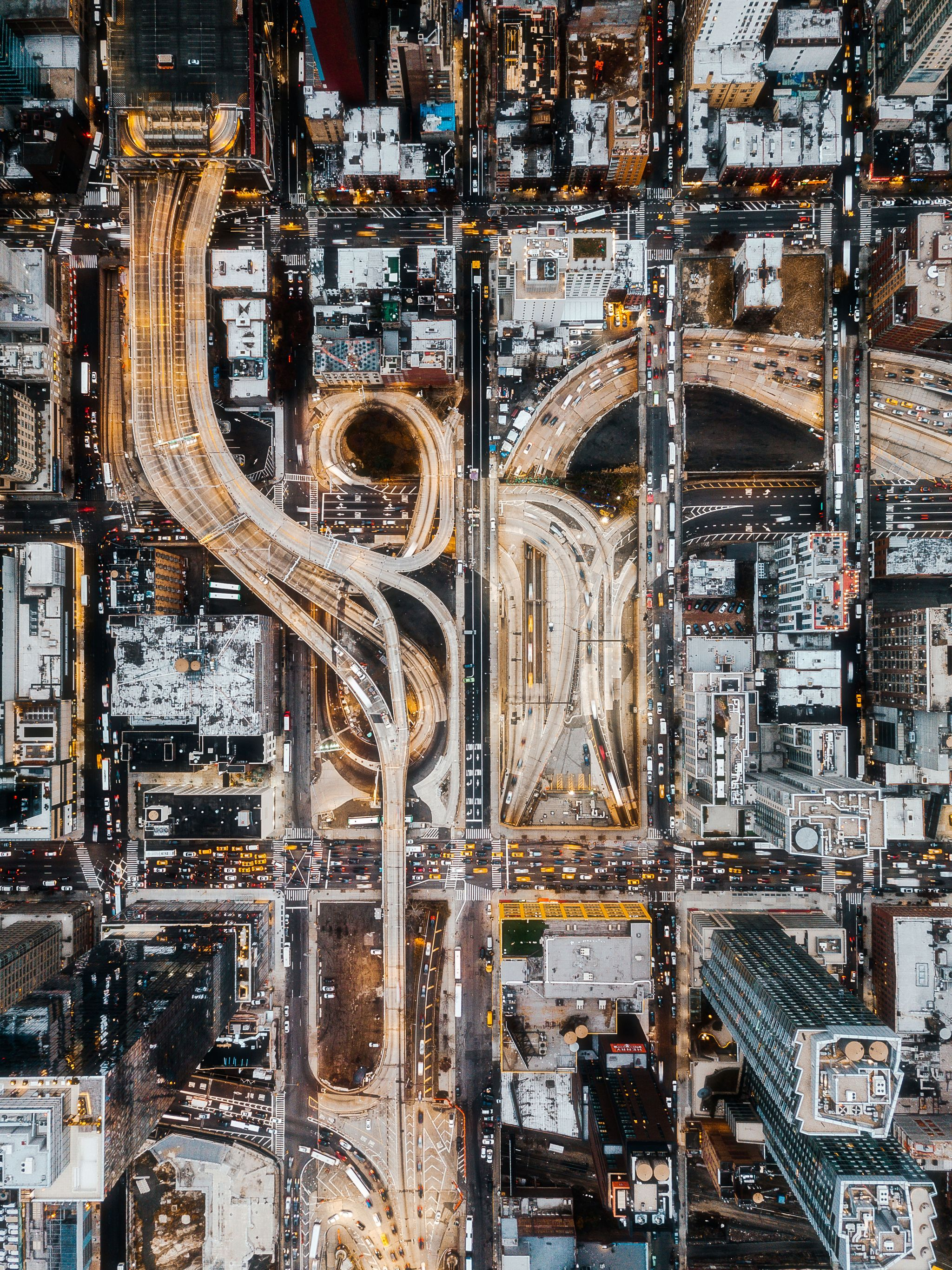 NYC Drone Photos By Humza Deas