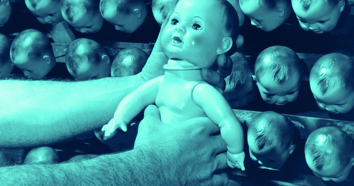 Dolls Are Creepy Because Your Brain Can't Handle Fake Faces