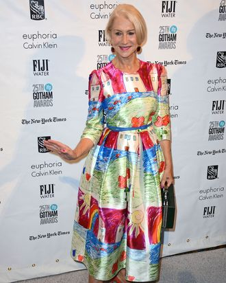 Helen Mirren at the Gotham Independent Film Awards.